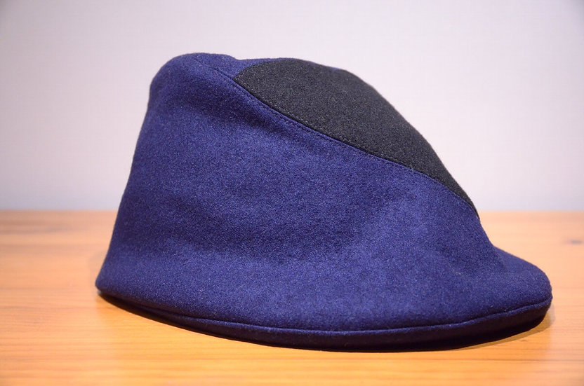 Karen Henriksen x The old curiosity shop Felt cap Handmade in London カレンヘンリクセン