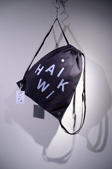 ハイク ナップサック モード おしゃれ ファッション 撥水 機能性 シンプル ロゴ 北欧 バッグ リュック ブラック グレー ネイビー