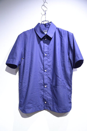 BEE Outerwear Windproof Shirt NAVY T-shirts Made In UK ビーアウタ-ウェア サイクリング 半袖シャツ