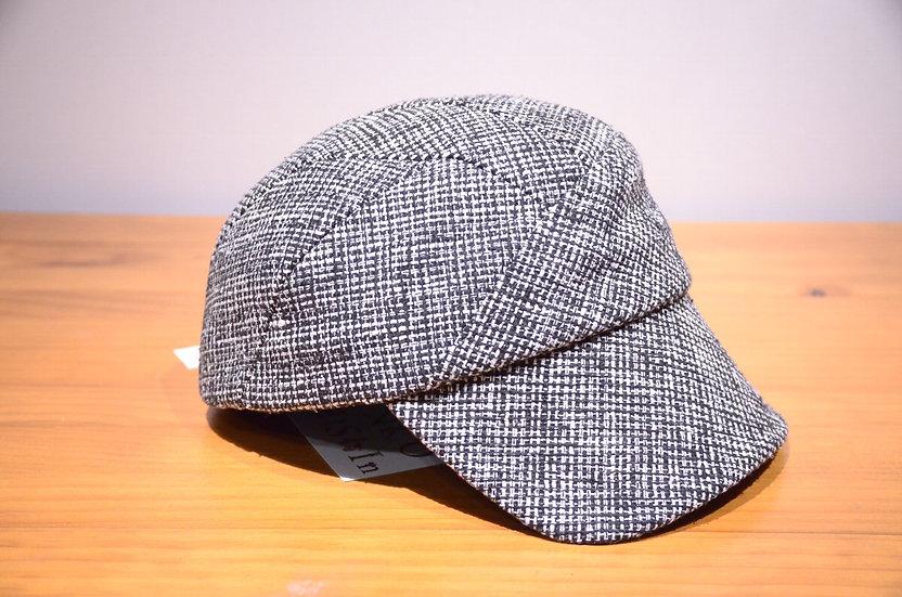 Karen Henriksen 'Lewis' Silk Tweed CAP Handmade in London カレンヘンリクセン シルクツイード キャップ