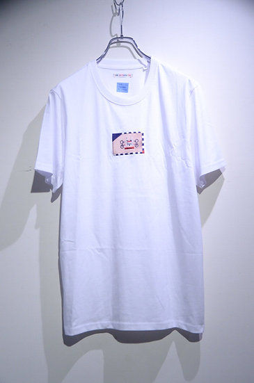 BEE Outerwear  Cycling Embroidery T-shirt Made in UK ビーアウタ-ウェア 自転車 刺繍  Tシャツ