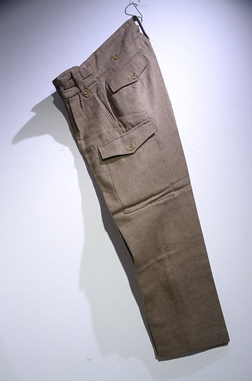 DEADSTOCK 1954 British Army 1946P Battle Dress Trousers No9 イギリス軍  バトルドレス トラウザース