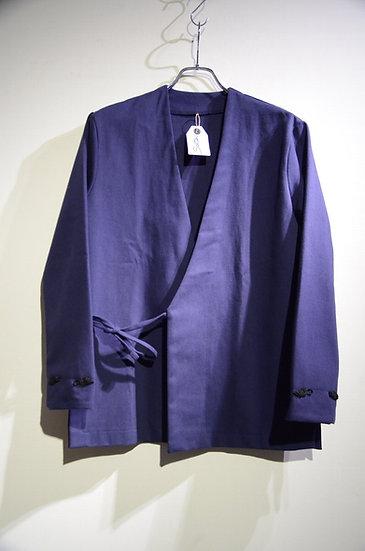 Sartori A brothers story Cotton Drill Kimo Shirt Handmade in Italy サルトーリ キモノシャツ