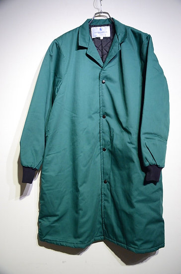 TROJANWEAR Quilted Overcoat Jacket Made in UK キルティング オーバーコート