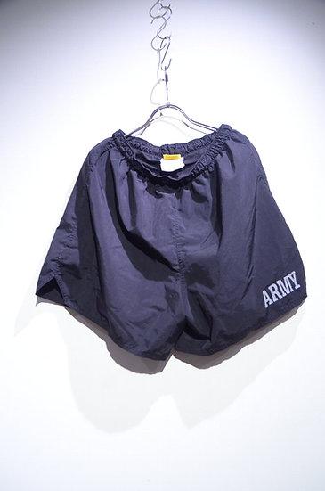 US Army IPFU Physical Fitness Uniform Nylon Black Short Pants アメリカ軍 トレーニング ショーツ