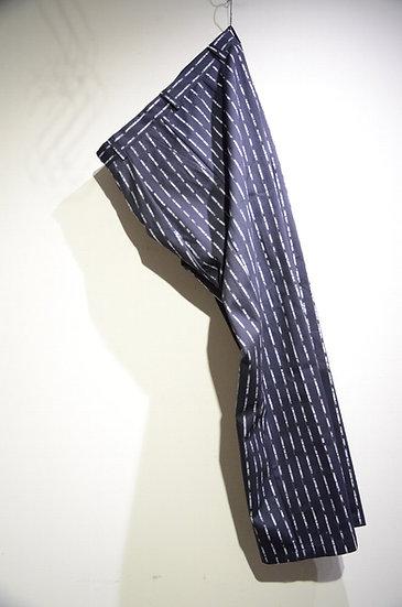Haik w/ Text Pinstripe Tailored Pants Made in lithuania ハイクウィズアス テーラードパンツ