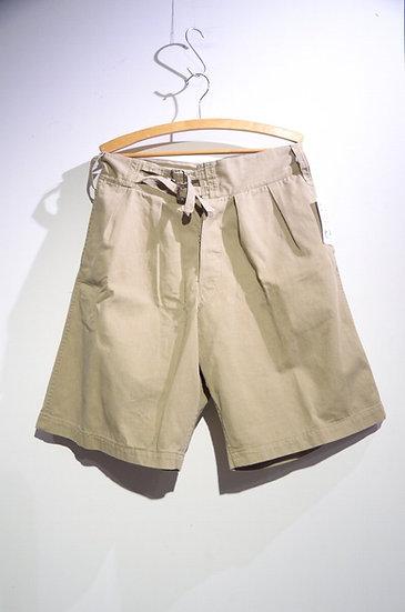 Vintage 1943s British Army Khaki Drill Shorts C Local made イギリス軍 カーキドリル ショーツ
