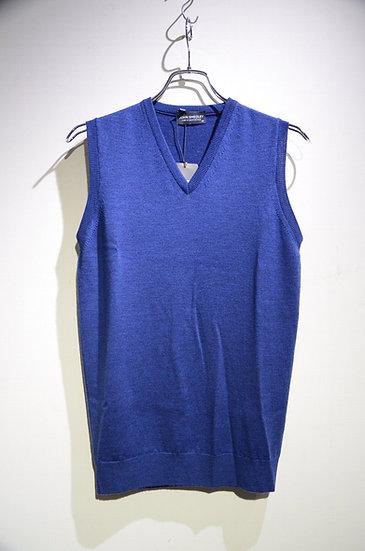 John Smedley Turner Slipover Wool Vest Made in England ジョンスメドレー ニットベスト