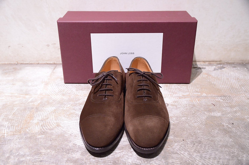 John Lobb City Suede Leather Made in England ジョンロブ シティ スウェード