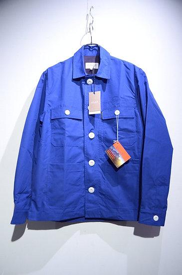 HAAR SCOTLAND Ventile Cotton RAF Blue CPO Jacket ハースコットランド ベンタイルコットン カバーオールジャケット