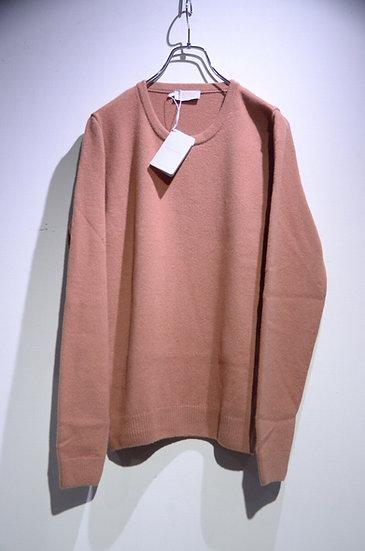 JOHN SMEDLEY CROWFORD Pullover Orange Imperial Cashmere ジョンスメドレー カシミア クルーネックニット