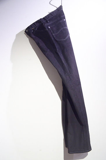 DEADSTCOK 70s Vintage LEE Corduroy Pants 241 BLK Made in USA リー コーデュロイ パンツ