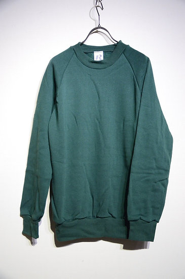 70s - 80s Vintage RELUM Sweat Shirt Light Green Made In Czechoslovakia スウェットシャツ