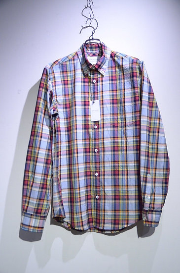 Tripl Stitched B.D. Bright Check Shirts Made in London トリプルステッチ マドラスチェックシャツ