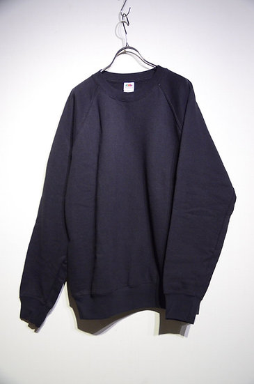 Fruit of the room BLACK Sweat Shirts Made In Morocco スウェット シャツ