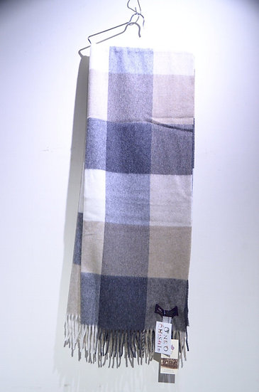 MOON Merino Lambswool Muffler NATURAL Made in The UK ムーン ナチュラル ラムウールマフラー