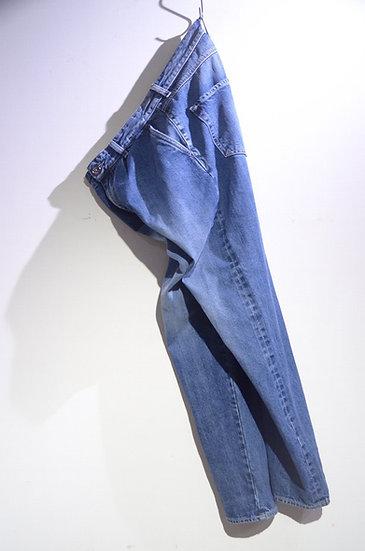 Prosac x Team Face Lab Stone wash Denim Trousers Made in Italy プロザック デニムトラウザース