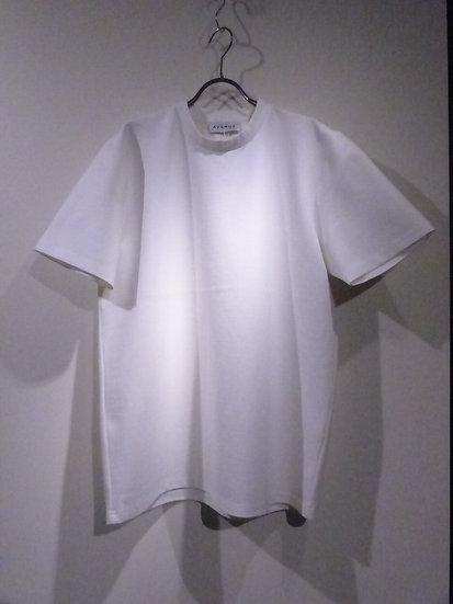 avenue アベニュー Tシャツ スウェット モックネック ミニマル ホワイト ブラック モード カジュアル ファッション 温故知新