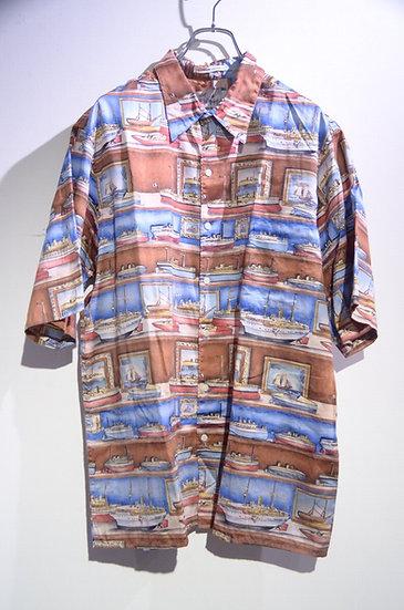 Used 90's Reyn Spooner Hawaiian Shirt Made In Hawaii レインスプーナー プリントシャツ