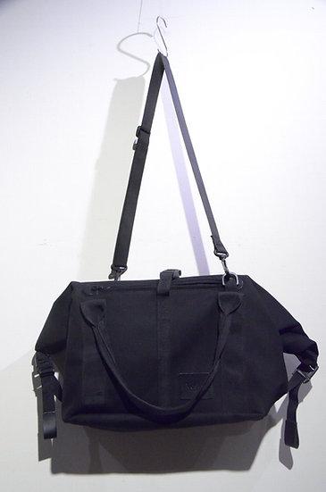"VESKE BAG ""The James Weekend"" Boston Bag BLACK HandMade In Scotland ヴェスケバッグ ボストン"