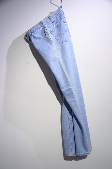 DEADSTCOK 90s Vintage Levi's 505 BLUE Denim Pants Made in Mexico リーバイス デニム