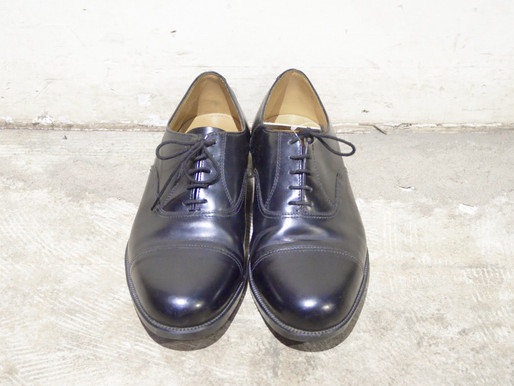 BRITISH ARMY & RAF SERVICE DREES SHOES & VINTAGE 80s LIGHT WEIGHT TROUSERS DEADSTOCK イギリス軍 サービスシューズ