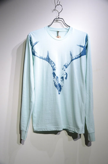 SALVOR Project Archive Longhorn Print T-shirt Made in USA サルボア ロングスリーブT