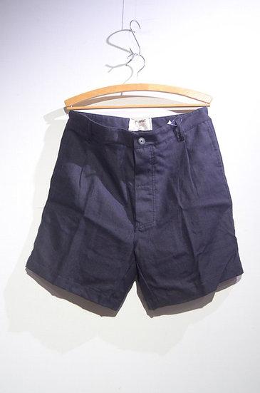 Prosac Italian Linen Bermuda Shorts Black HandMade in Italy プロザック イタリアンリネンショーツ