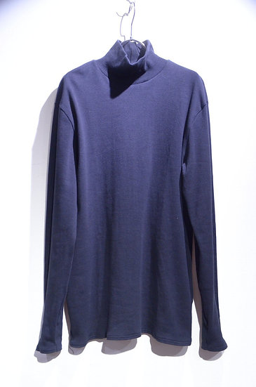 "Grove & Co ""Polo Neck"" Mock Turtle Cut Saw Made in UK グローブ&コー モック タートルネック カットソー"