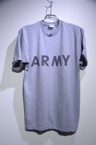 US ARMY IPFU Physical Fitness Reflector TShirt Made in USA 米軍 リフレクタープリント Tシャツ