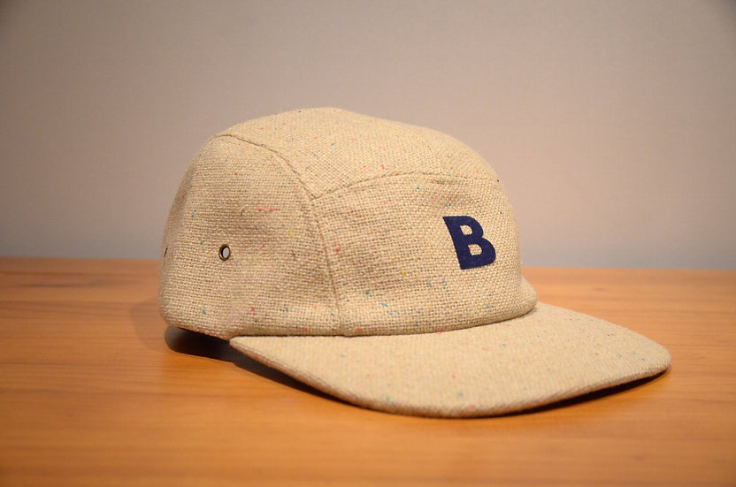 BEE Outerwear nep yarn Cotton 5-Panel Cap Made in USA ビーアウターウェア ネップコットン ワークキャップ