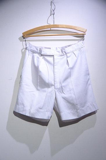 USED 90-00s Royal Navy Sailors Shorts White イギリス海軍 ホワイト ショーツ ショートパンツ
