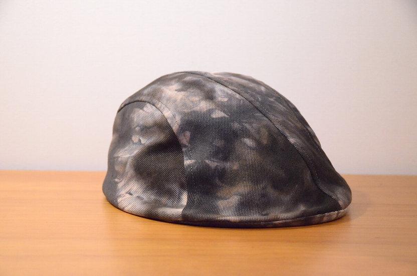 Karen Henriksen 'Bradley' flat cap Handmade in London カレンヘンリクセン ツイルコットン フラットキャップ