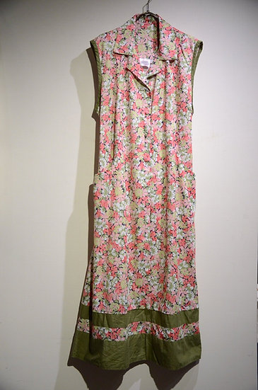 DEADSTOCK 90~00s Vtg Pauline May Floral Print  Dress Made in UK フラワープリント ワンピース