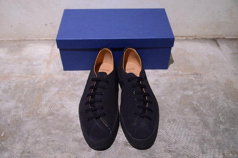 サンダース オールドキュリオシティ マッドガード スエードレザー デザイン バナナ 革靴 デザイナーズ