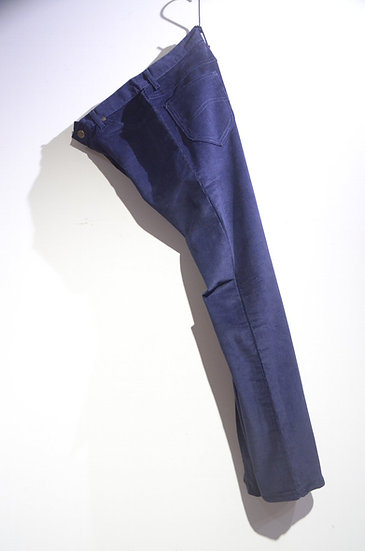 DEADSTCOK 70s Vintage LEE Corduroy Pants 200 NAVY A Made in USA リー コーデュロイ パンツ