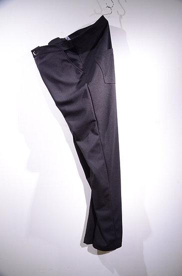 HAiK ハイク イージーパンツ ブラック ジャージ デザイン テーパード スポーティ モード ファッション スリム