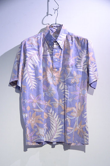 Vintage 70~80's Reyn Spooner Leaf Print Shirt Made In Hawaii レインスプーナー プルオーバーシャツ