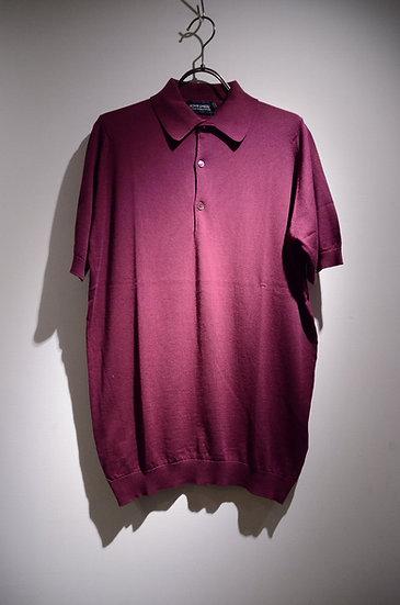 John Smedley Cotton Polo Shirts Colton ジョンスメドレー シーアイランドコットン ポロシャツ