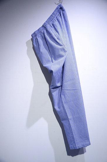 90 ~ 00s British Army Check Chef Easy Trousers イギリス軍 ギンガムチェック シェフパンツ イージーパンツ