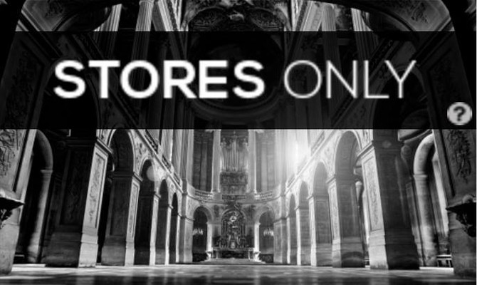 Versailles Chapel exklusiv in Geschäften in Frankreich erhältlich!