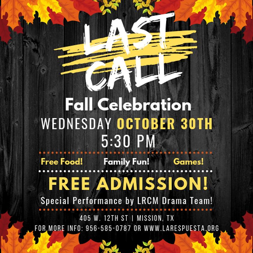 Last Call Fall Celebration