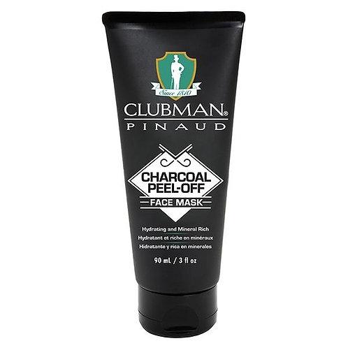 Mascarilla negra activa de carbón para hombre Clubman Pinaud 90ML