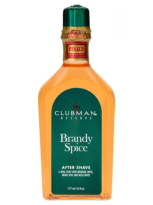 Aftershave Clubman Pinaud Reserve Brandy Spice 177ml.