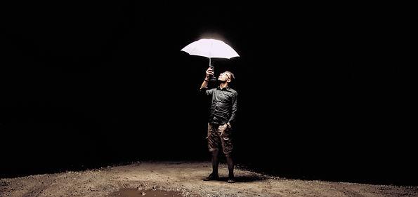 Man with an Umbrella