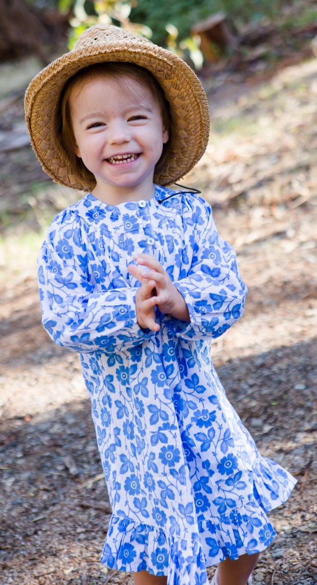 Sun safe girls dress