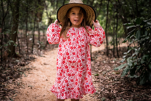 Breezy Dress - red