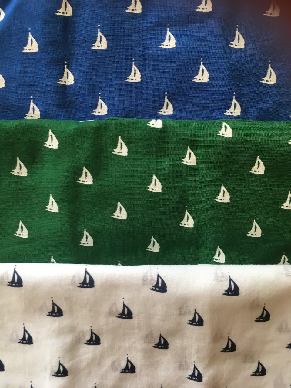 Australian Design lightweight cotton tops Sailboat prints