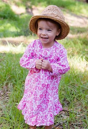 Breezy dress - Pink Garden