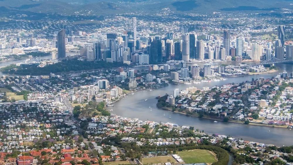 Brisbane city - location for sun safe activity